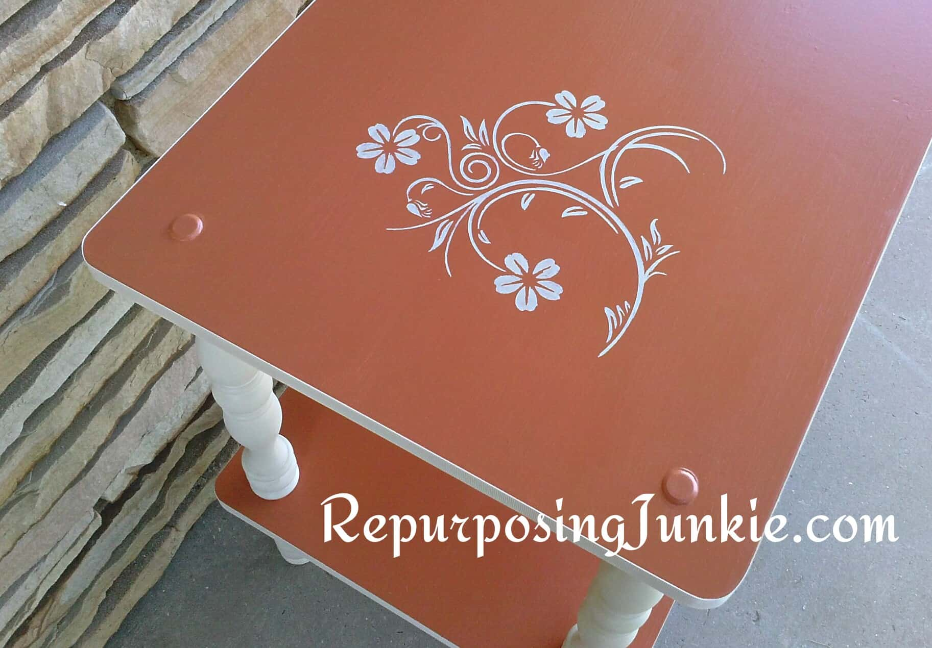 Refinishing an Entryway Table