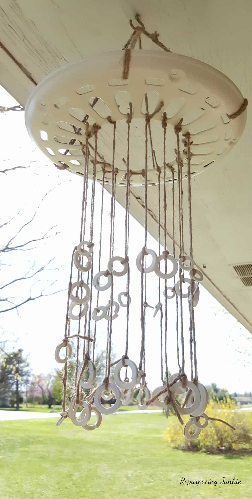 How to Make a Wind Chime using Repurposed Materials