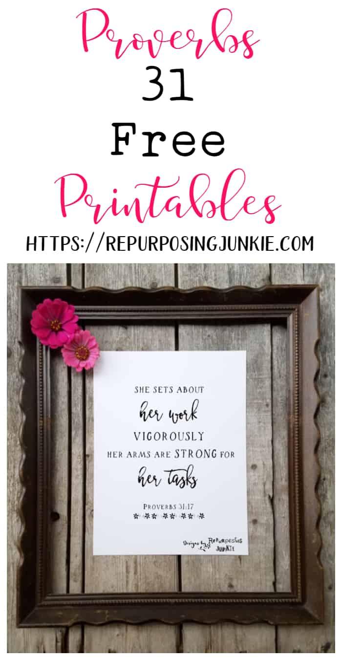 FREE Proverbs 31 Printables