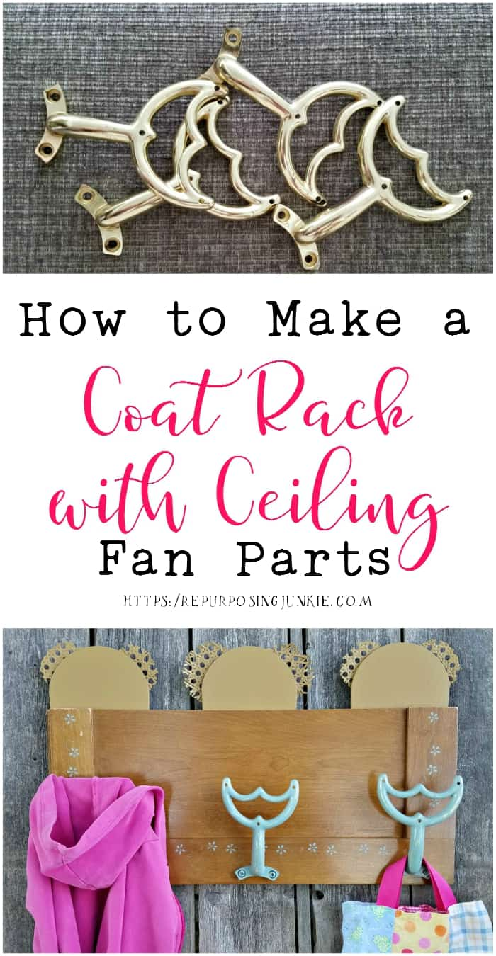 How to Make a Coat Rack Using Ceiling Fan Parts