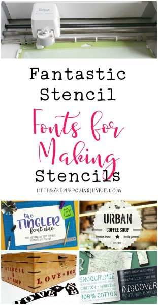How to Keep Letters Intact When Making Stencils in Cricut Design