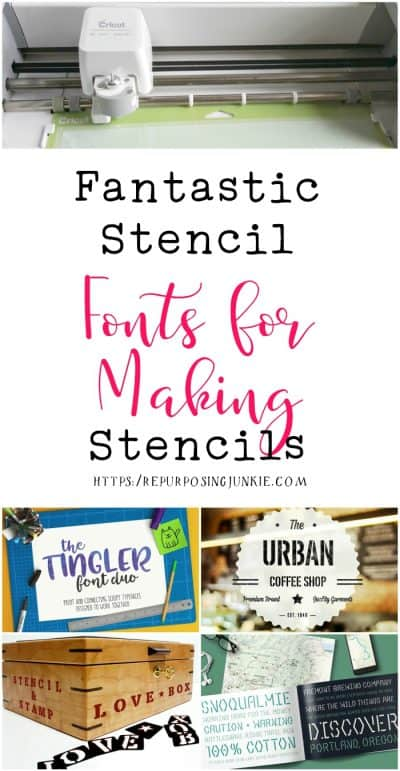 Fantastic Stencil Fonts for Making Stencils